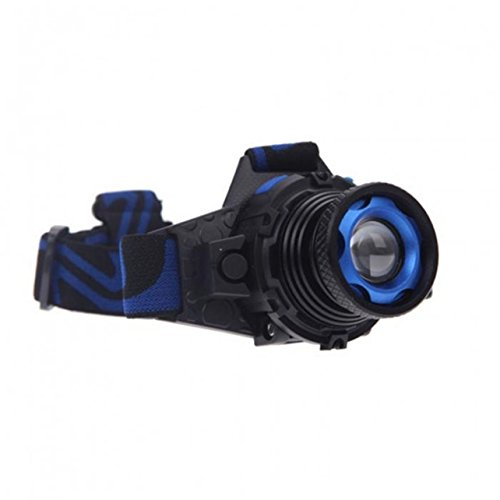 1 Set 1000 Lumen Cree Q5 LED Headlamp 3 Modes Flashlights 3W Flashlight Headlight Master Fashionable Ultra Xtreme Tactical Bright Light Waterproof Outdoor Running Hiking Hunting Fishing Camping - Vision Headlamp Master