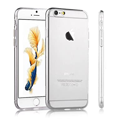 pretty nice 83e18 4a16b iPhone 5 & 5s Silicone Gel Case Case - Transparent Clear Soft Gel TPU  Silicone Case Cover for Your iPhone 5 & 5s - Transparent Tpu Jelly Rubber  Gel ...