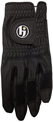 HJ Glove Men's Black Gripper Golf Glove
