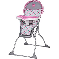 Disney Baby Simple Fold Plus High Chair, Minnie Dot Fun