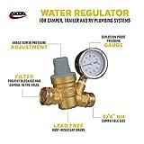 Valterra RV Water Regulator, Lead-Free Brass