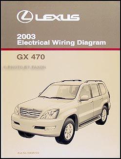 2003 Lexus GX 470 Wiring Diagram Manual Original: Lexus: Amazon.com: BooksAmazon.com