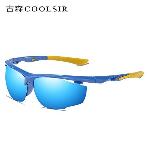 frame Plein nbsp;Soleil Blue Conduite de polariseur Mjia pour Lunettes Lunettes sunglasses de de polarisées air Sport Lunettes Homme de en nbsp;Soleil UUHRgWqP1