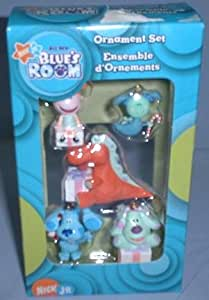 Amazon Com Nick Jr Blue S Room Ornament Set Toys Amp Games