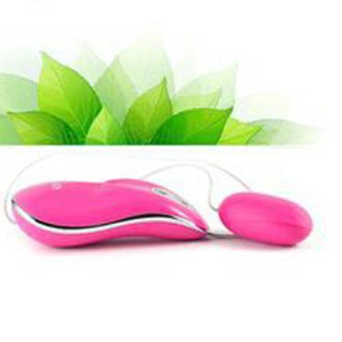 Inkach Waterproof Remote Control Shacking Shock Frequency Conversion Egg Vibrator (Pink)