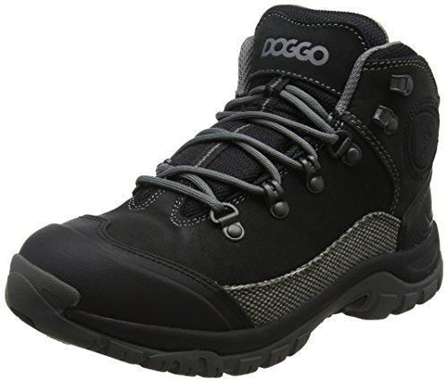Doggo Mixte gris Chaussures Bruno Noir black 002 Adulte De Hautes Noir Randonnée grey CCUrS
