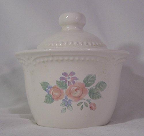 Pfaltzgraff Rosalinda Pattern Sugar Bowl