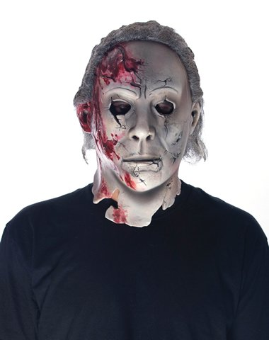Rob Zombie Michael Myers (Don Post Studios Rob Zombie Halloween 2 Movie Michael Myers Mask)