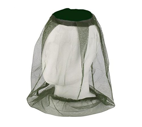 [Mosquito Head Net Keep Away from Mosquito Bites,Equipment for Outdoor Sports,Jungle,Field Work ,Fishing Hat Green] (Fan Costumes)