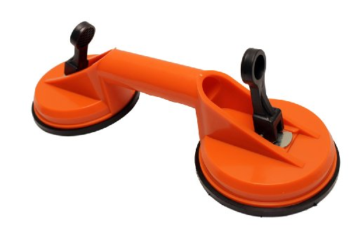 Double Suction Cup Dent Puller & Glass Repair Tools
