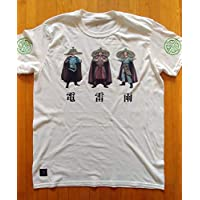 Big Trouble in Little China inspired character tees - 電 雷 雨 - 80s theme