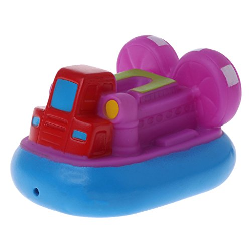 Cool Bath Toy Baby ToysColorful Car Boat Soft Rubber Toys Swimming Pool Kids Water Spray for Boys Girls Safe Material