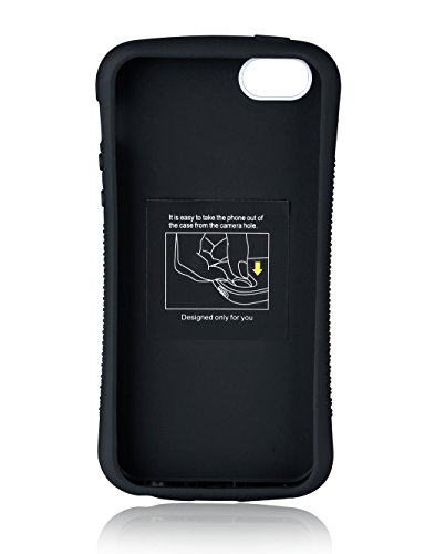 iPhone 5S Case, TPU + PC Hybrid for iPhone 5/5S, Abstract Pattern - SSI5016