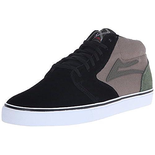 Lakai , Chaussures de skateboard pour homme noir Black/Walnut 44