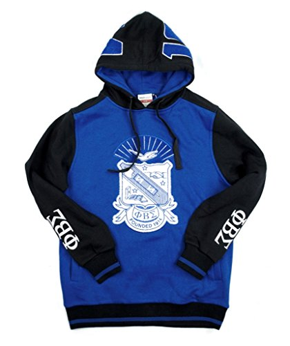 Sigma Phi Fraternity - Phi Beta Sigma Fraternity Mens New Athletic Hoodie Large Blue