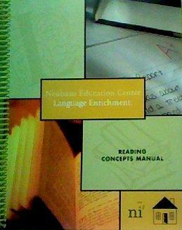 Language Enrichment: Reading Concepts Manual (Neuhaus Education Center compare prices)