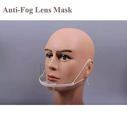 Microblading Mask Eyebrow Tattoo Plastic Crystal Anti-Fog Lens Mask Protective Medical Masks- QMYBrow by QMYBrow