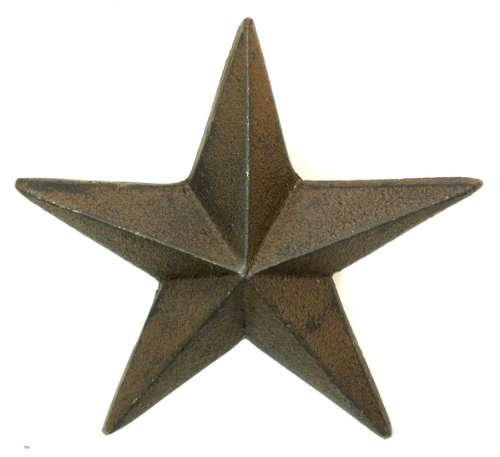 X-large Cast Iron Nail Star - Set of ()
