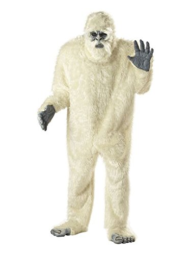 California Costumes Men's Abominable Snowman Costume,White,One Size ()