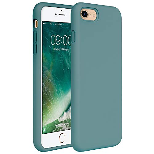 "Miracase iPhone SE 2020 Case,iPhone 8 case,iPhone 7 Silicone Case Gel Rubber Full Body Protection Cover Case Drop Protection for Apple iPhone SE 2020/ iPhone 8/ iPhone 7(4.7"")"
