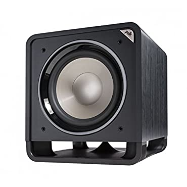 Polk Audio HTS 12 Floor-Standing Subwoofer (Black Washed Walnut)