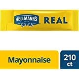 Hellmann's Mayonnaise Stick Packets Real 0.38 oz, Pack of 210