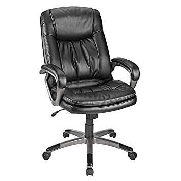 RealspaceR Harrington II High Back Chair BlackGray