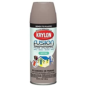 Krylon 2438 Satin Khaki Spray Paint 12 Ounce By Krylon Diversified Brands Home