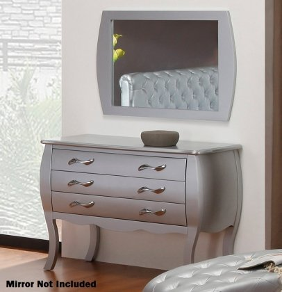 VIG Furniture VGKCGBS015 Modrest Monte Carlo Transitional Platinum by VIG Furniture