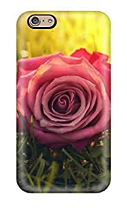 Anti-scratch Case Cover AllenJGrant Protective Beautiful Flowers Case For Iphone 6