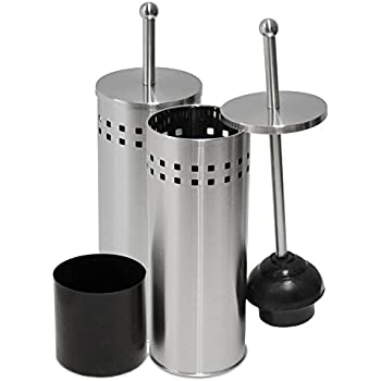 Amazon Com Oasis Collection Toilet Plunger Amp Holder