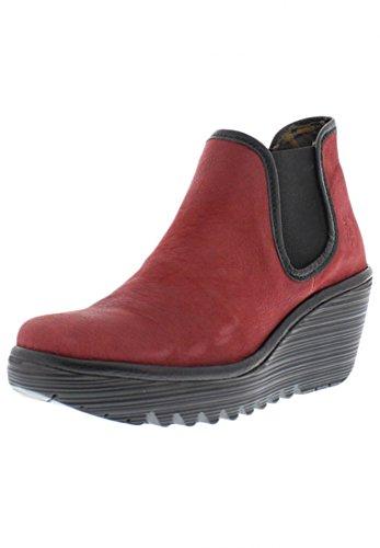FLY London Women's Yat Boot,Cordoba Red/Black,39 EU/8 M US