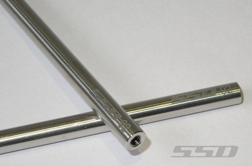 SSD RC 92mm Titanium Lower Links for SCX10