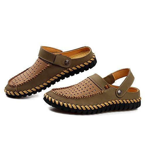 Scarpe Doppio Sandals Cave da Spiaggia Antiscivolo Da CM Verde Summer Uomo Traspiranti pantofole Wagsiyi 0 Scarpe spiaggia Uso Scarpe 24 0 A 27 qO5PzWw