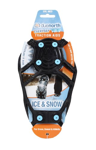 Ice Cleats Ice Grippers for Most Types of Shoes