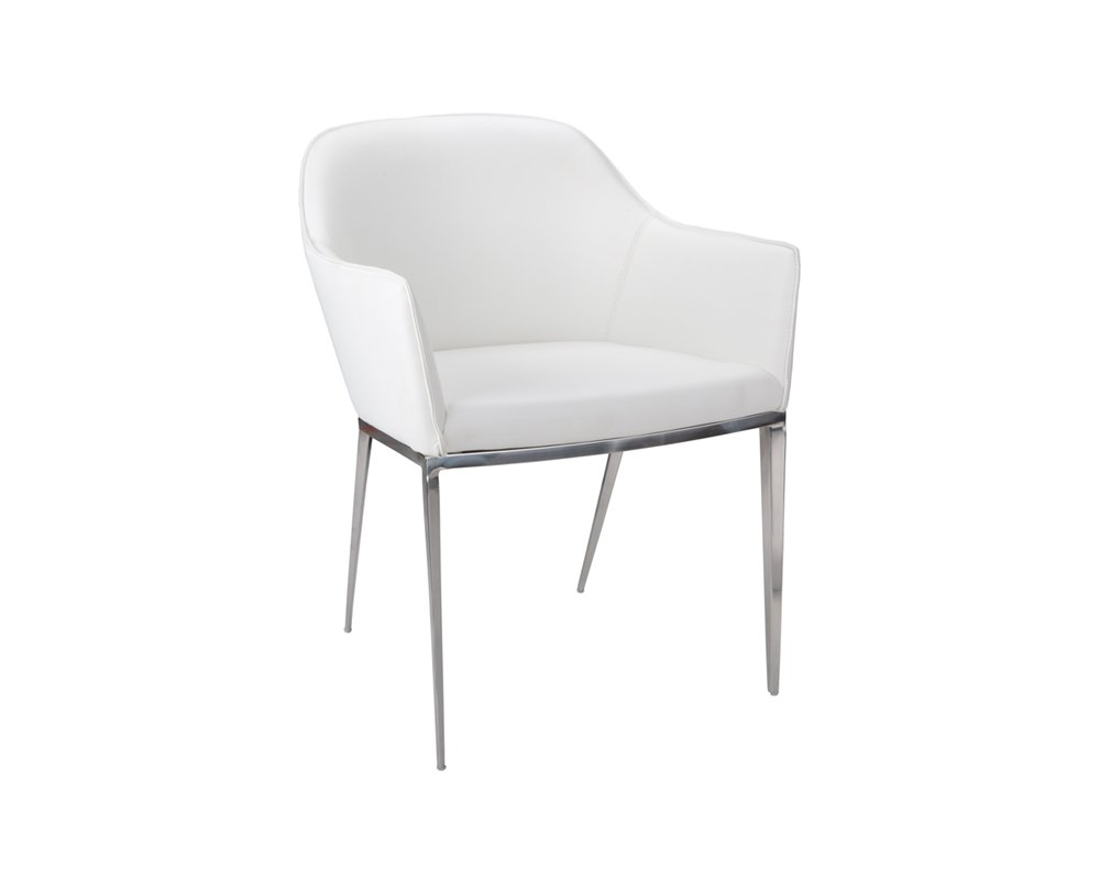 Amazon com sunpan 13026 ikon dining chairs 21 x 23 white chairs