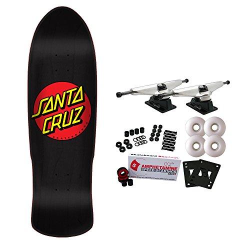 ab761c3b39f Santa Cruz Old School Skateboard Complete Classic Dot Pre Issue 9.41