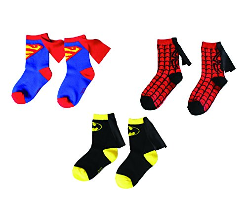 Kids' Novelty Socks - Superman, Batman, Spiderman, Angel -