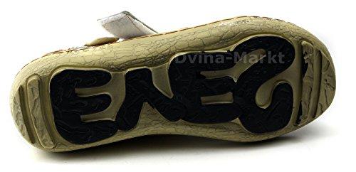 TMA Leder Damen Ballerinas Sommer Schuhe Sandale 1601 Weiß