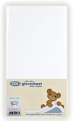 Babysecurity S/ábana bajera para colchones Next 2 Me//Lullago color blanco