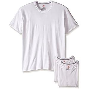 Hanes Men's 3-Pack Comfort Blend Crew, White, XX-Large