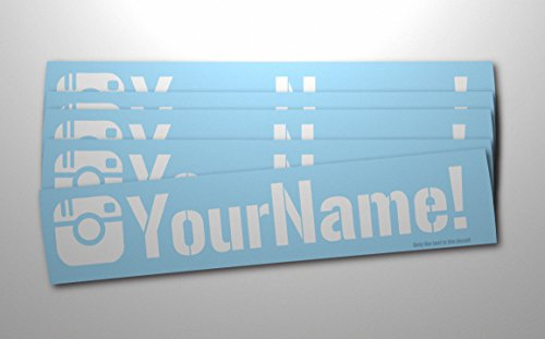 Customized Social Media User Name Large 8