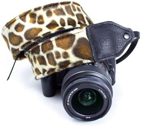 Perris Leathers CSN-37 Nylon Camera Strap Giraffe on Tubular