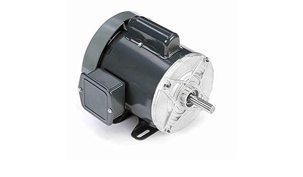 Ball Bearing Rigid Base 1//2 hp Capacitor Start 1 Speed 115//230 VAC 1 Phase 1800 rpm Marathon CG260 48 Frame Totally Enclosed Fan Cooled 5KC37RN35 General Purpose Motor