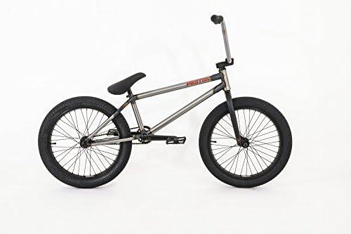 FLYBIKES Proton 2016 Bicicleta BMX, Unisex Adulto, Raw, L: Amazon ...