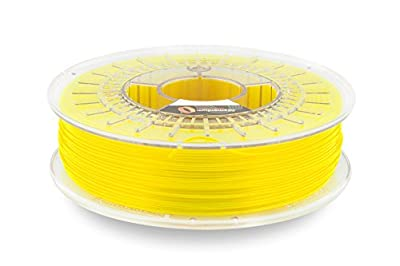 Fillamentum CPE Extrafill Neon Yellow 1.75mm 3D Printer Filament Spool, Diameter Tolerance +/- 0.05mm, 750g
