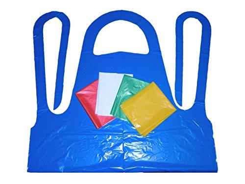 Polyethylene Disposables Apron, Orange, Case of 1000 by Polyethylene Disposables