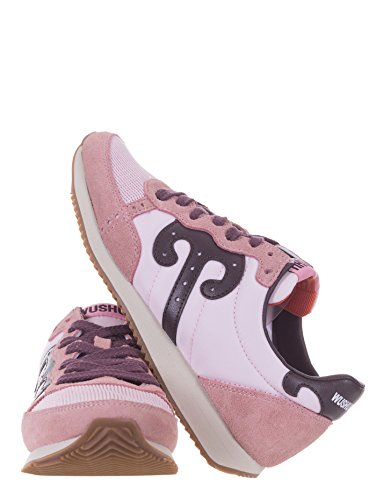 E Camoscio Wushu Ruyi Sneakers Rosa Donna Tessuto qqAvwT