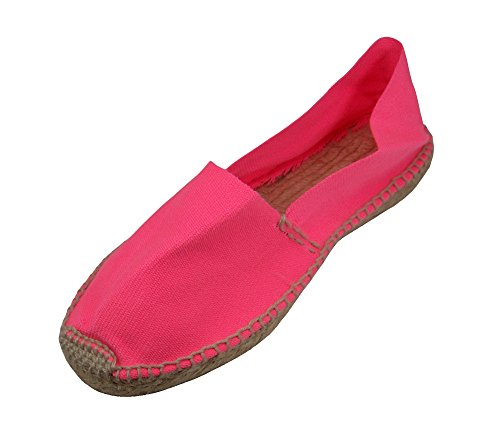 Price comparison product image Alpargatus - Espadrille Fluor Pink 34 EU / 3 - 3.5 US Unisex Child Pink