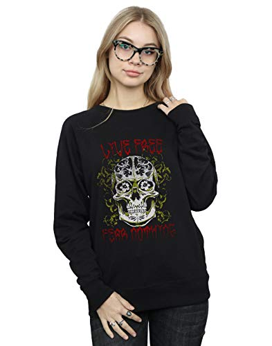 Camisa Entrenamiento Nothing De Mujer Negro Drewbacca Fear Fgqw7HBB